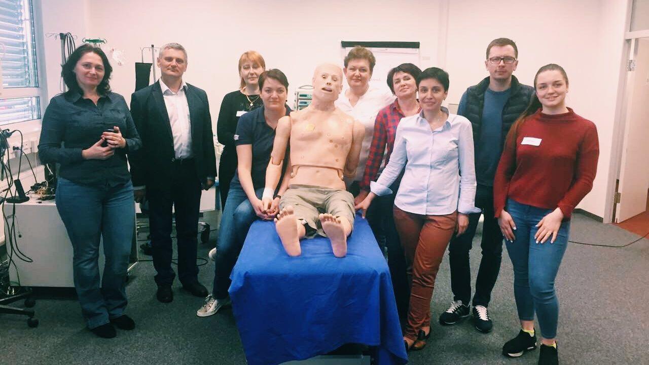 """""""Импреса"""" организовала обучение на базе одного из ведущих симуляционных центров Европы Alpha Medical Concepts (г.Линц, Австрия)"""